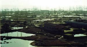 Разливи - нефт, Азербайджан