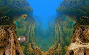 Подводно. Компютърна графика от Атанас Славов